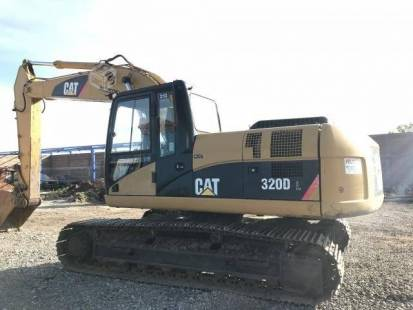 Excavadora caterpillar 320 dl